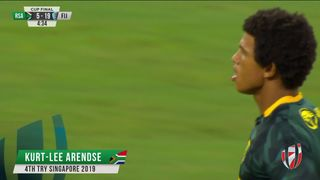 Try, Kurt-Lee Arendse - RSA v Fij