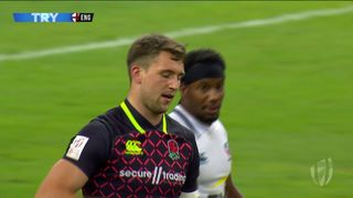 Try, Harry Glover - Usa v ENG