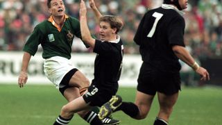 ジョエル・ストランスキー Joel Stransky (L) RWC 1995 final drop goal