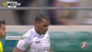 Try, Josua Vakurunabili - Aus v FIJ