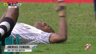 Try, Aminiasi Tuimaba - Aus v FIJ