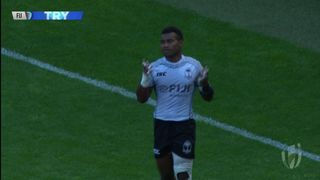 Try, Jerry Tuwai - FIJ v Nzl