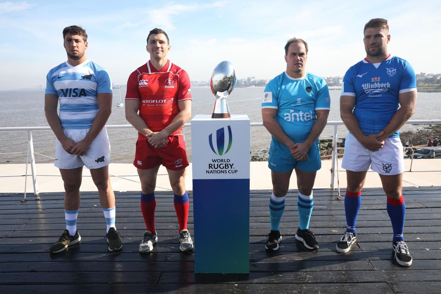 World Rugby Nations Cup 2019: Captains' photo