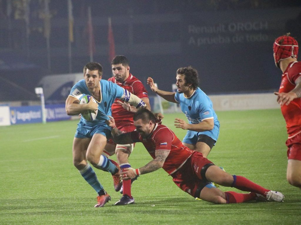 Uruguay And Argentina Xv In Nations Cup