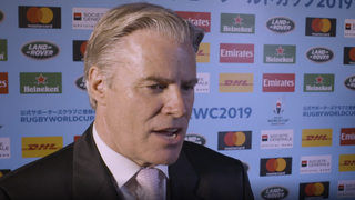 World Rugby CEO Brett Gosper on Rugby World Cup 2019