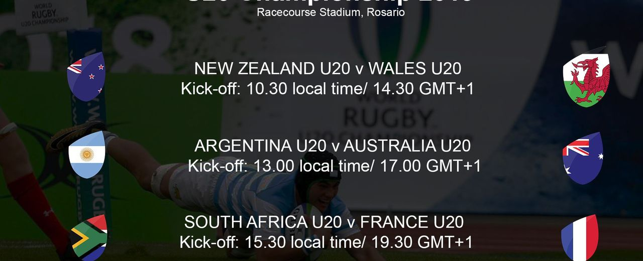 World Rugby U20 Championship 2019 - South Africa U20 v France U20