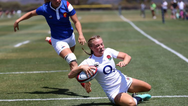 Women's Rugby Super Series 2019: England v France - Photo: Travis Prior