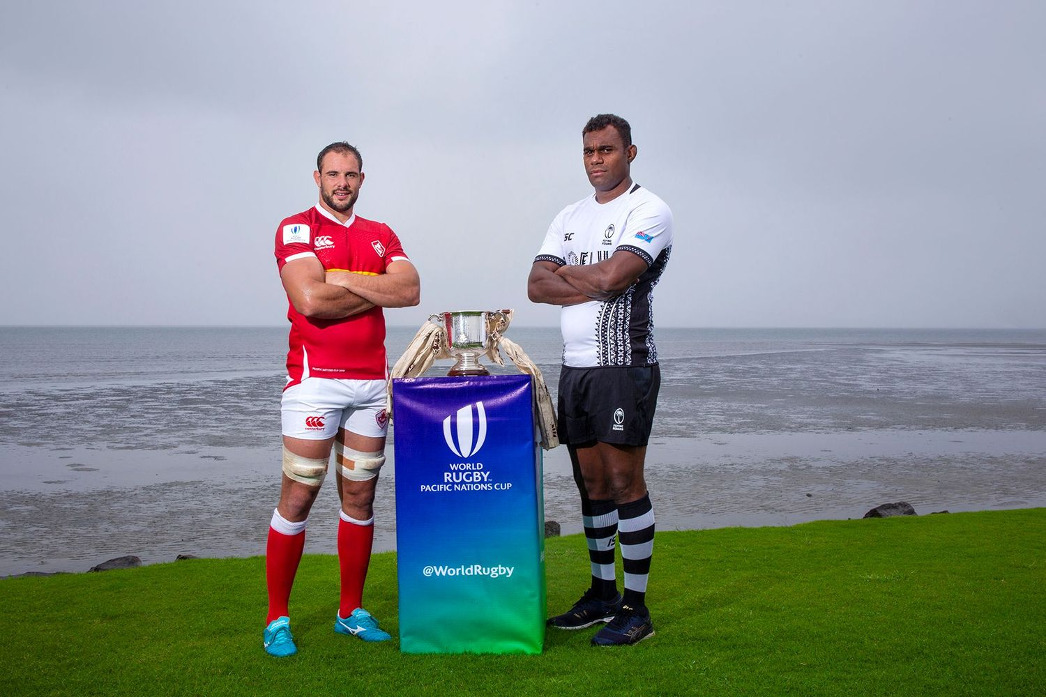 Pacific Nations Cup 2019: Captain's photoshoot Fiji - Canada