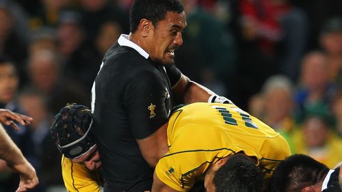Try Savers: Kaino's amazing try saver at Rugby World Cup 2011