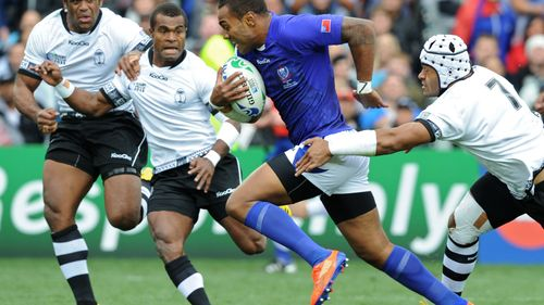 Try Savers: Naipolioni Nalaga's great try saving tackle at RWC 2011