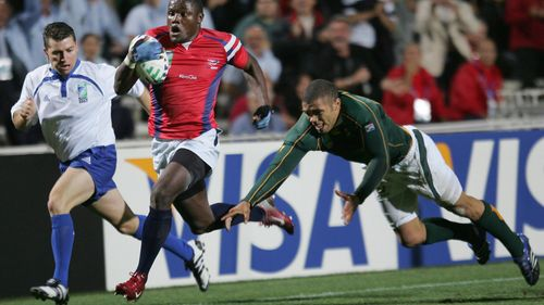 Player Tracking: Ngwenya beats Habana at Rugby World Cup 2007