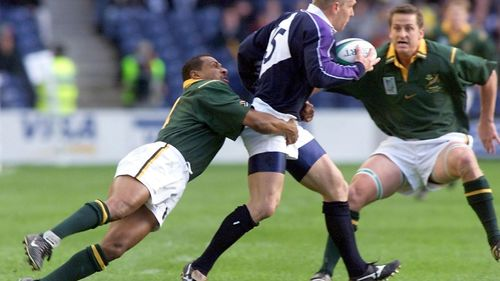 Try Savers: Deon Kayser makes crucial tackle v Scotland at RWC 1999