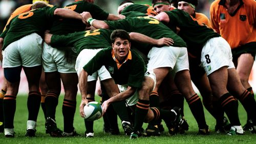 Try Savers: Joost tackles Lomu at Rugby World Cup 1995