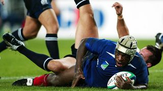 France Best Bits: Serge Betsen finishes great back row move at Rugby World Cup 2003