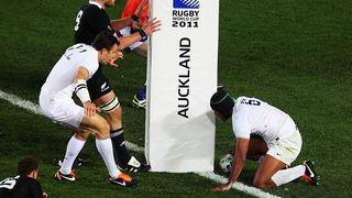 France Best Bits: Thierry Dusautoir scores in Rugby World Cup 2011 final