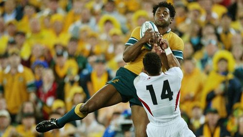 Australia Best Bits: Tuqiri's try in the final of Rugby World Cup 2003