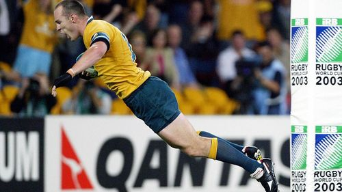 Australia Best Bits: Stirling Mortlock's powerful try v Scotland in 2003