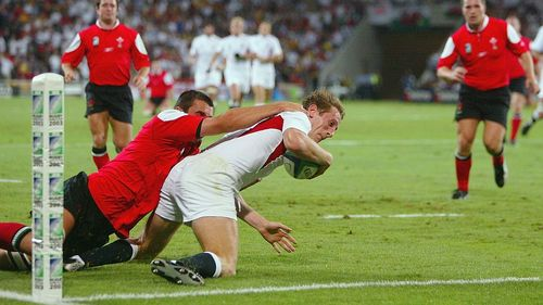 England Best Bits: Will Greenwood's try v Wales at Rugby World Cup 2003