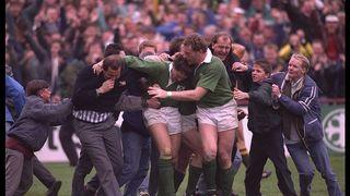 アイルランド伝説の名シーン : ゴードン・ハミルトンの圧倒的なトライ ラグビーワールドカップ1991