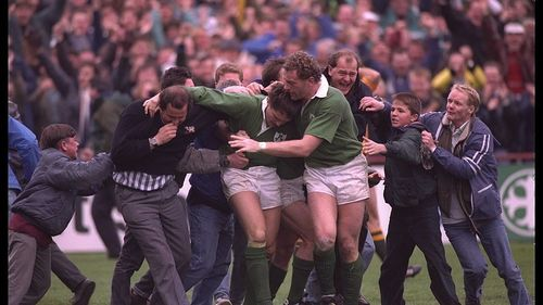 Ireland Best Bits: Gordon Hamilton scores epic try at Rugby World Cup 1991