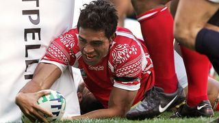 Tonga Best Bits: Viliami Vaki finishes amazing length of the pitch try at RWC 2007