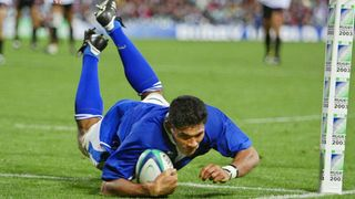 Samoa Best Bits: Semo Setiti can't be caught against England at RWC 2003