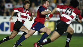 USA Best Bits: Mike Hercus with the dummy and go at Rugby World Cup 2003