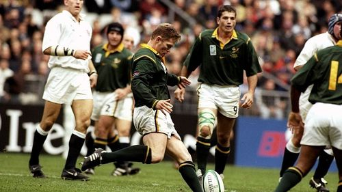 South Africa Best Bits: Jannie De Beer's amazing drop goal skill at RWC 1999