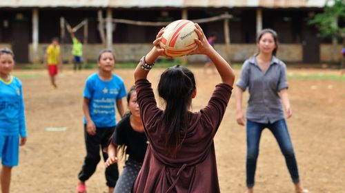 ChildFund - Pass It Back Programme in Laos