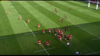 RWC 2015 - Mamuka Gorgodze driving run