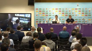 RWC 2019 Pre-Tournament Media briefing - Background only (not for publicatioon)