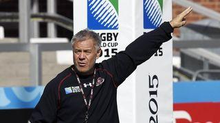 Georgia coach Milton Haig