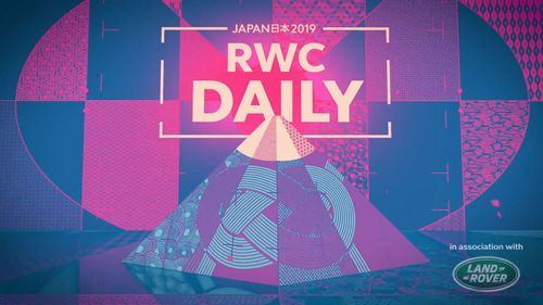 Rugby World Cup Daily - Episode 1