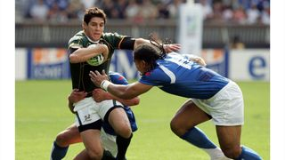 Fourie brings Rugby World Cup winner's passion to fire Eagles defence