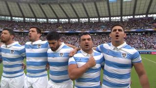 Argentina sing national anthem with incredible passion