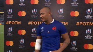 Gaël Fickou Wins Mastercard Player of the Match for France