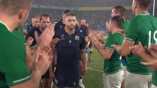 Ireland applaud Scotland after physical Pool A match up