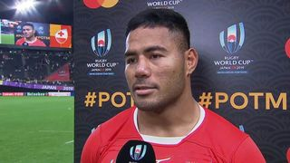 Manu Tuilagi wins Mastercard Player of the Match for England