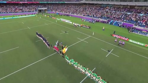 Scotland's first national anthem at Rugby World Cup 2019