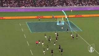Player Tracking: George Bridge's amazing try v South Africa