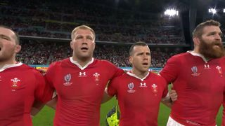 Wales first national anthem at RWC 2019