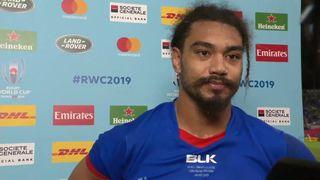 Samoa captain Chris Vui post match interview