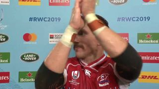 Russia captain Artemyev post match interview