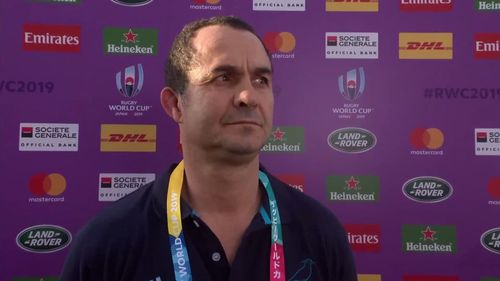Uruguay coach Meneses' perfect post match interview