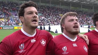 Canada sing their first national anthem at Rugby World Cup 2019