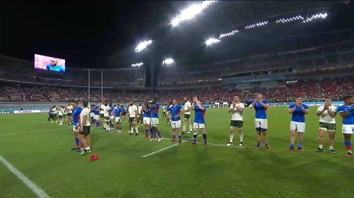Amazing sportsmanship as both Namibia and South Africa bow