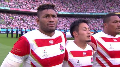 Japan spine tingling national anthem at Rugby World Cup 2019