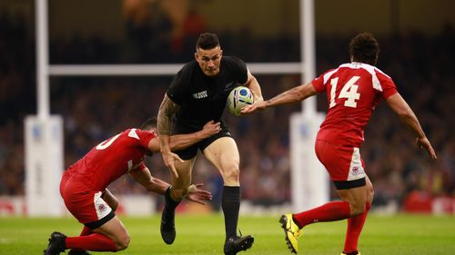 Sonny Bill Williams New Zealand v Georgia, Cardiff, 2015