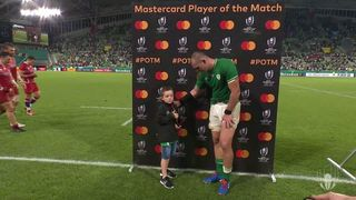 Rhys Ruddock wins Mastercard Player of the Match