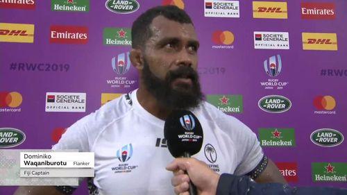 Fiji captain Dominiko Waqaniburotu
